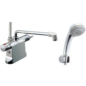 *INAX*BF-B646TNSB[300]-A100 サーモスタット付シャワーバス水栓エコフル多機能シャワー寒冷地用【送料・代引無料】