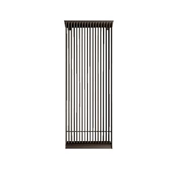 *コロナ/CORONA*TM650-HRCA-HB 冷温水輻射パネル 放熱器 ホットブラウン[特注品] 冷暖房〈メーカー直送〉