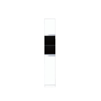 【メーカー直送のみ】*マイセット* Y2-30RA+Y2-30RS[右/左] 上下セット トールユニットオープンタイプ 奥行36cm Y2シリーズ 壁面収納 ベーシックタイプ [間口30cm]