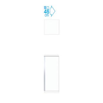 【メーカー直送のみ】*マイセット* Y3-45U[右/左]+Y3-45F[右/左] 天袋+フロアユニットセット 2点組合せタイプ Y3シリーズ 玄関収納 ベーシックタイプ [間口45cm]