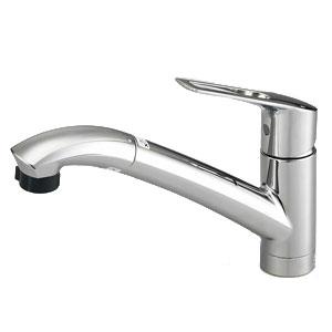 *パナソニック*QSKM5031TEPC 混合水栓ハンドシャワー クロムメッキ 一般地用【送料・代引無料】