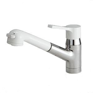 *パナソニック*QSFS325T7 混合水栓ハンドシャワー クロムメッキ・樹脂 寒冷地用【送料・代引無料】