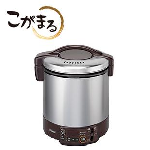 *リンナイ*RR-100VMT[DB] ガス炊飯器 こがまる 電子ジャー・タイマー付 1.8L ダークブラウン [2-10合]【送料・代引無料】