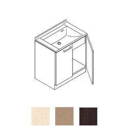 *トクラス*YEAB075AA[A/B]C 洗面化粧台[AFFETTO] ベースキャビネット 間口75cm Lシリーズ