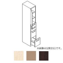 *トクラス*SHAB045DD[L/R] 洗面化粧台[AFFETTO] トールキャビネット 間口45cm Lシリーズ