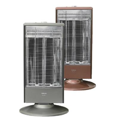 *山善*DB-J102-H [グレーメタリック] 1000W 遠赤外線ヒーター 電気ヒーター 暖房器具
