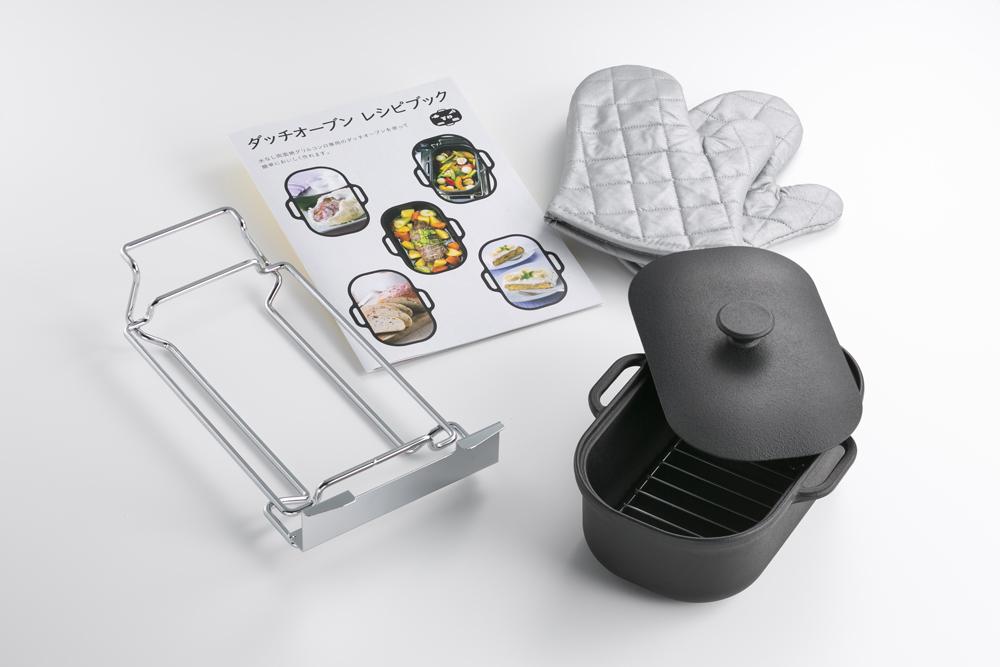 パロマ creaシリーズ専用 ダッチオーブンセット PGD-3