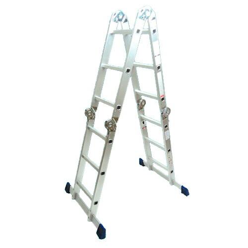 【送料無料】アルミマルチ脚立 アルミ万能はしご(2台セット)[ABH-320] アルミス [折畳み式 ハシゴ]