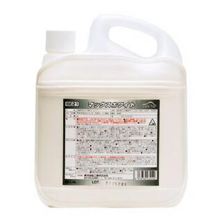 強力水アカ取り剤 マックスホワイト (4L)(2本入) 横浜油脂工業 [送料無料]