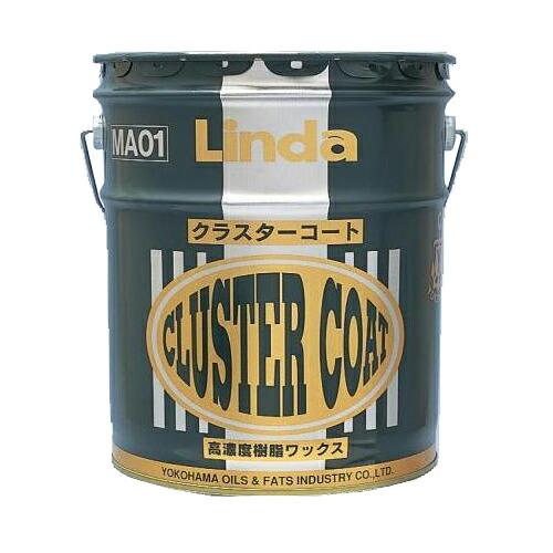 床用樹脂ワックス クラスターコート ペール缶/18kg 横浜油脂工業