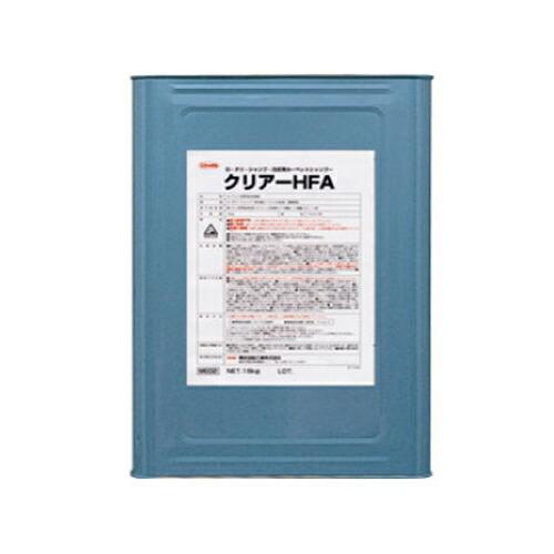 カーペット洗浄剤 クリアーHFA 角缶/18kg 横浜油脂工業