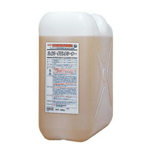 動植物油系禅定剤 ハイパーダクトクリーナー ポリボトル/20kg 横浜油脂工業 [送料無料]