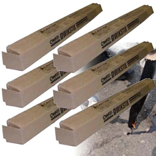 アスファルト接合補修材 クイックスティック(1箱/6本入) クラフコ(USA)【あす楽対応】[道路補修] [駐車場補修][1本の目安は5~6m]