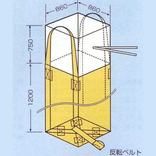 【在庫限り】 コンテナバック 角1型(004型)(10枚入)(1t用)[フレコンバック] [送料無料], 一天堂 48d1778f