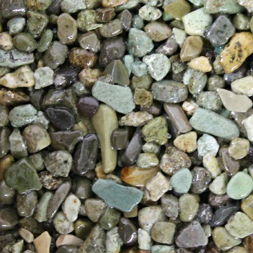 乾燥砂利 青海(せいかい)(20kg)(5袋セット)マツモト産業[エクステリア用材] [送料無料]