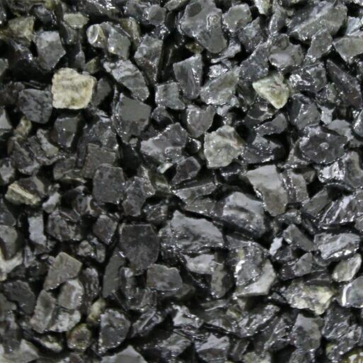 乾燥砂利 黒玉砂利(20kg)(10袋セット)マツモト産業 [個人宅宅配不可][エクステリア用材]