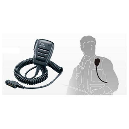 アイコム 携帯用デジタルトランシーバー(登録局対応)用 HM-183SJ 防水型スピーカーマイクロホン