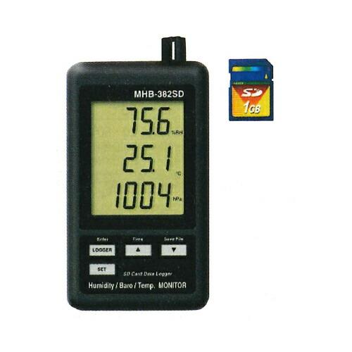 高級感 SDカードデータロガーデジタル温湿度・気圧計 マザーツール 温湿度 MHT-381SD 温湿度 マザーツール MHT-381SD [送料無料], ハットウチョウ:aad5019f --- dpedrov.com.pt