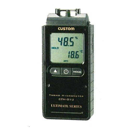 【送料無料】デジタル温湿度計 CTH-01U 温度0~60℃ 湿度5~95%RH カスタム