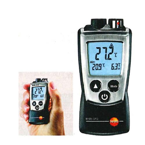 【送料無料】レーザー付赤外線放射温度計 testo 810 -30~+300℃ テストー