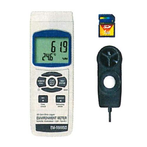 最高の マルチ環境測定器 EM-9300SD 風速・温度・湿度・照度 マザーツール [送料無料] EM-9300SD [送料無料], アメリカンツールズ:5bd465fb --- dpedrov.com.pt
