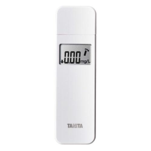流行 さりげなく携帯できるスマートなデザイン オリジナル アルコールチェッカー ホワイト EA-100-WH