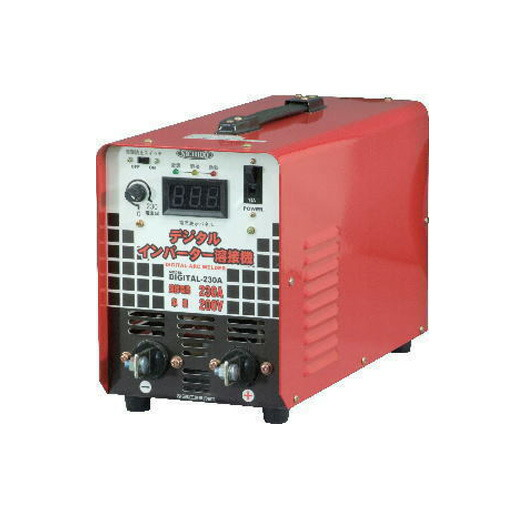 日動工業 インバーター直流溶接機 DIGITAL-230A 単相200V専用 電撃防止機能付