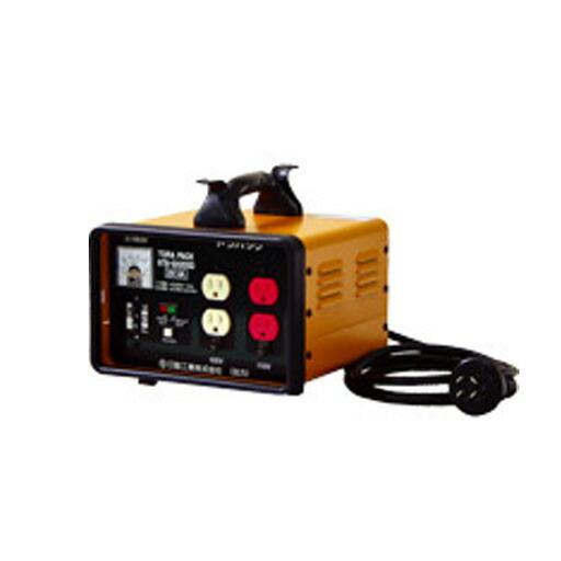 日動工業 降圧専用トランス 屋内型 NTB-EK200D 単巻トランス(連続定格) 過負荷漏電しゃ断器付