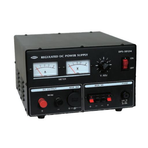 日動工業 直流安定化電源装置 DPS-5012M 100V→DC12V(12V仕様) 屋内型