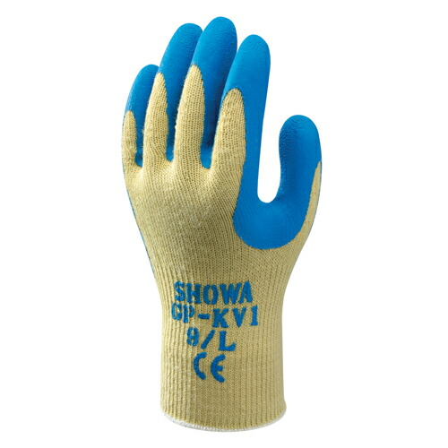 耐切創性背抜き手袋 GP-KV1(EUケブラーグリップ) (120双入) ショウワグローブ [送料無料]