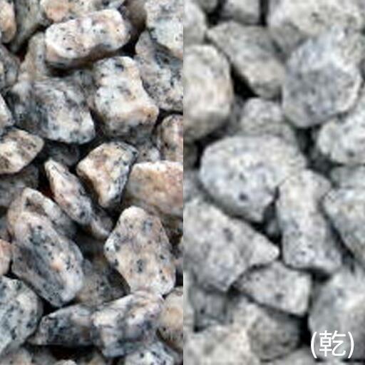 ヤマト玉砂利 白川(しらかわ)(18kg)(10袋セット)マツモト産業 [個人宅宅配不可]