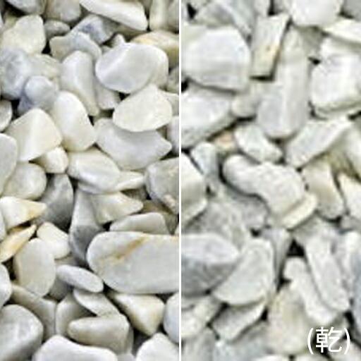 ヤマト玉砂利 銀彩(ぎんさい)(18kg)(5袋セット)マツモト産業