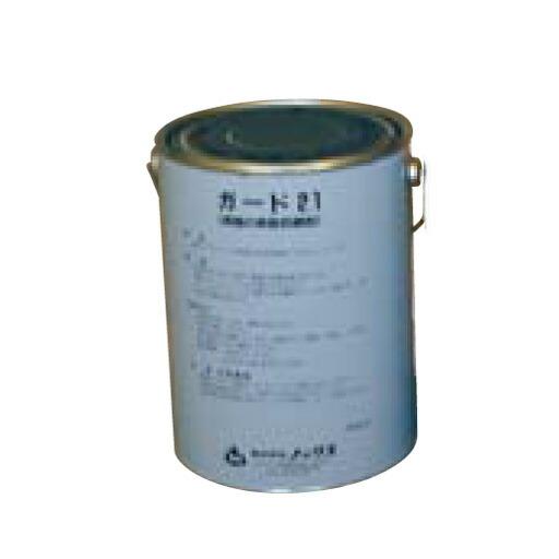 【送料無料】鉄筋防錆剤 ガード21(4kg) ノックス 長期[型枠工事用材]