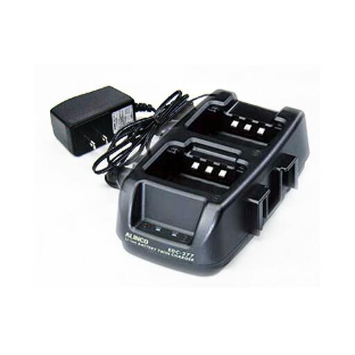 同時通話型特定小電力トランシーバー DJ-P45 ツイン充電器セット EDC-177A アルインコ
