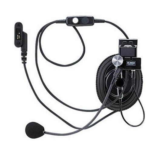 同時通話型特定小電力トランシーバー DJ-P45 ヘルメット用ヘッドセット EME-40A アルインコ