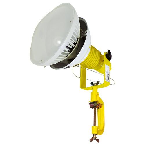 【送料無料】LED安全投光器90W 防雨2Pプラグ 5M 電球色 屋内型 ATL-9005-S 日動工業