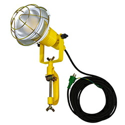 【送料無料】LED安全投光器14W ATL-E1410-3000K 電球色 アース付 10M 日動工業