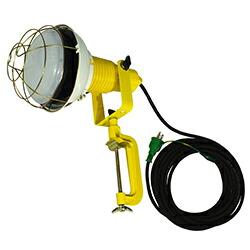 【送料無料】LED安全投光器 50W ATL-E5010-3000K アース付 10m 電球色 日動工業