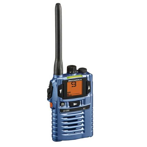 特定小電力トランシーバー ブルー CL120ABL モトローラ [送料無料]