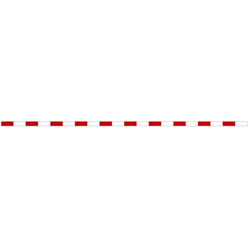 丁張板 7.5cm幅×4m 20cm赤白(20本入) T4-7520