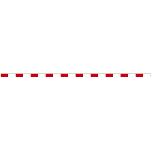 【送料無料】丁張板 10cm幅×4m 20cm赤白(15本入) T4-1020