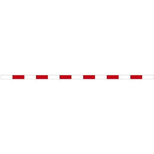 丁張板 10cm幅×3.9m 30cm赤白(15本入) T4-1030