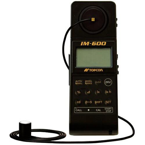 【送料無料】デジタル照度計 0.005~999000lx 受光径14mmφ IM-600M