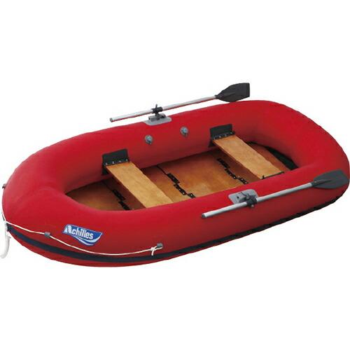 【送料無料】ワークボート 4人乗り、レッド EC4-642