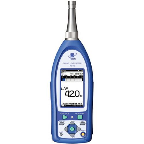 騒音計 NX-42EX付/検定付 クラス2 NL-42EXK リオン [送料無料]