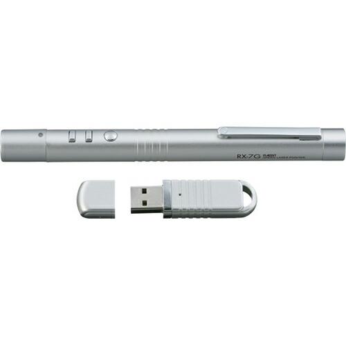 レーザーポインター レーザー光:グリーン RX-7G