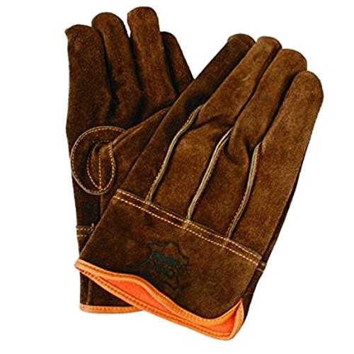 防寒手袋 牛床革タイプ 防寒 牛床革オイル背縫い 2284 10双 川西工業 [送料無料]