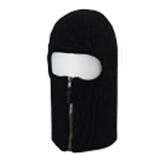 防寒用品 目出し帽 ファスナー付 6876 10枚入 川西工業