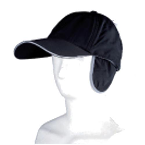 防寒帽子 ナイロン防寒キャップ耳付 7001 10枚入 川西工業