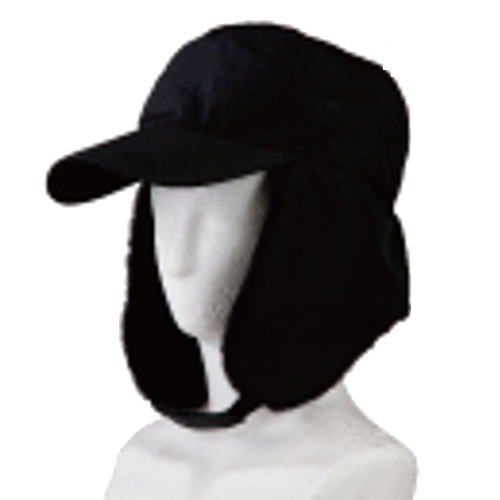 防寒帽子 ボア付防寒キャップ 7008 10枚入 川西工業